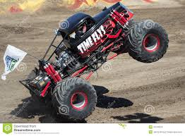 Time Flys Monster Truck Editorial Stock Photo. Image Of Engine ...