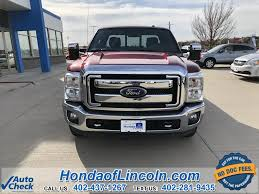 100 Lincoln Truck 2013 Used Ford F350SD Lariat Near Omaha G2673A Honda Of