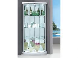shelves magnificent kgrhqv display cabinet glass shelves corner