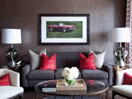 Yellow Black And Red Living Room Ideas by Red And Blue Living Room Rug Large Rugs Wall Decor Walls Pictures