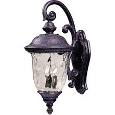 maxim lighting carriage house dc outdoor wall mount 3496wgob the