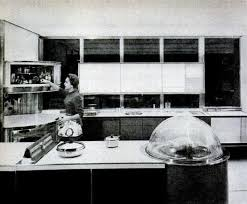 And This Image Shows Us A Quite Advanced Scifi Kitchen As In It Is Still Not Possible Frigidaires General MotorsKitchen Of Tomorrow 1956