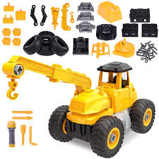 100 Toy Trucks For Kids Amazoncom Take Apart S With Tools 51 PCs Construction S