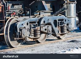 100 Truck Axles Wheels And Wheel Truck With Three Axles Heavy Rail Freight Wagon