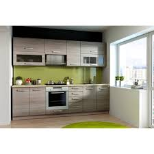 acheter cuisine complete lassen cuisine complète l 260 cm décor chêne sonoma achat