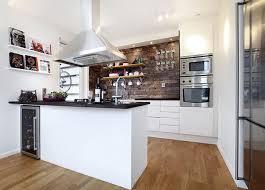kleine und schöne küchen dekorationen in schwarz und weiß