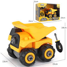 100 Kids Dump Truck Children Take Apart Construction Educational DIY Engineering Vehicle Toys Gifts For Truck