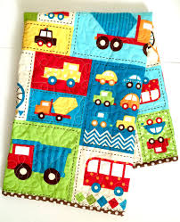 100 Truck Crib Bedding Awesome Baby Quilt Boy Blanket S By