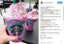 Il Frappuccino Unicorno Di Starbucks E Food Pensato Per Instagram