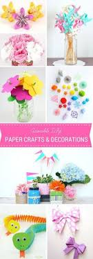 30 DIY Paper Crafts And Decorations