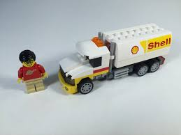 LEGO Shell V Power 40196 Shell Tanker Truck 2014 Polybag - YouTube