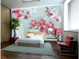fototapete pink orchids variation ii