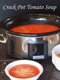 crock pot tomato soup from lynnskitchenadventures