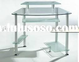Tempered Glass Computer Desk by Tempered Glass Computer Desk Tempered Glass Computer Desk