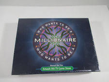 Who Wants To Be A Millionaire Board Game NEW SEALED 2000