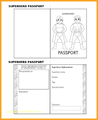 Template Powerpoint 2013 Kids Passport Top Result Word Photo Best Of For Art Resume Examples Pic