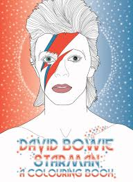 David Bowie Starman A Coloring Book By Plexus 15 In Honor Of The Late This New Features Some His Most Iconic Looks