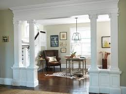 Easy Living Room Columns Design 57 In Interior For Home Remodeling With