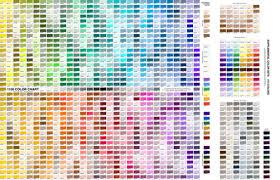 Practical 1100 Color Chart With Supplemental Sets C2012 By Jane Walker Fabric Artbyjanewalker