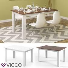 meubels esstisch herford 160x80cm weiß wohnzimmer