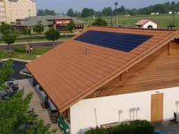 jetson green clay roof integrated sol礬 power tile