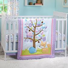 little love by nojo girls adorable orchard 3 pc crib set crib