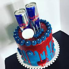 bull themed drizzle cake diy geschenke freund backen