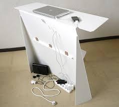 cache fil bureau console bureau d appoint design