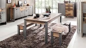 tischgruppe prime esszimmer tisch bank wood matera grau