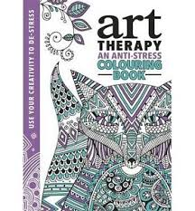 Image Is Loading The Art Therapy Colouring Book By Richard Merritt