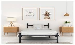 Platform Metal Bed Frame by 28 Off On Platform Metal Bed Frame Matt Groupon Goods