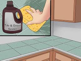 Grouting Vinyl Tile Answers by 3 Ways To Tile A Countertop Wikihow