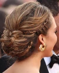 Blonde Vintage Braided Wedding Hairstyle