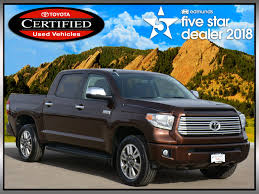 100 4wd Truck Certified PreOwned 2015 Toyota Tundra 4WD Platinum Crew Max
