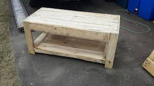 How To Make A Wood Pallet Coffee Table Diy Trends