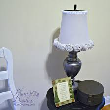 Lamp Makeover with Trash Can Lamp Shade Plum Doodles