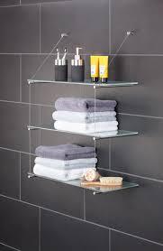 handtuchregal und handtuchablage in edelstahl design