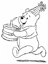 Printable Happy Birthday Coloring Pages For Kids