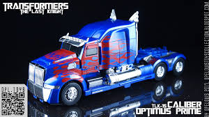 100 Optimus Prime Truck Model Opelouiss Toys Collection TAKARA Transformers The Last Knight TLK