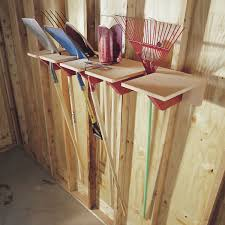 Rubbermaid Shed Tool Hangers by Garden Tool Storage Ideas Family Handyman