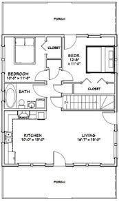 Pole Barn Home Floor Plans With Basement by 20x32 Tiny House 20x32h4d 640 Sq Ft Excellent Floor Plans
