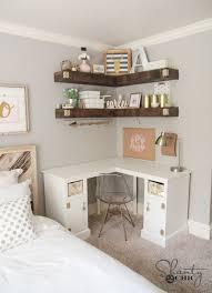 Ikea New White Corner Desk by Best 25 Corner Desk Ideas On Pinterest Corner Shelves Diy