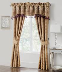 Nicole Miller Home Two Curtain Panels by Waterford Window Treatments Curtains U0026 Valances Dillards