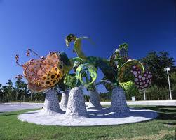 Yayoi Kusama Pumpkin Sculpture by Yayoi Kusama Flowers Of Shangri La 2000 Artsy