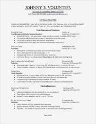 High School Resume Examples Unique Template College Legalsocialmobilitypartnership