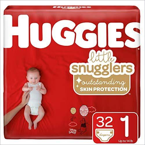 Huggies Little Snugglers Baby Diapers - Size 1, 35ct