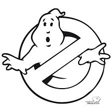 Ghostbusters Coloring Pages Disfraz De Logo Cazafantasmas