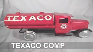 TEXACO COMPANY DIECAST TOY TRUCK - YouTube Amazoncom Ertl 9385 1925 Kenworth Stake Truck Toys Games Texaco Cast Metal Red Tanker Truck By Ertl For Sale Antiquescom Vintage Toy Fuel Tractor Trailer 1854430236 Beyond The Infinity 1940 Ford Pickup With Lot Detail Two 2 Trucks Colctible Set Schrader Oil Vintage Buddy L Gas Pressed Steel Antique Tootsietoy 1915440621 Sold Diamond T 522 Livery Rhd Auctions 26 Andys Toybox Store 273350286110 1990 Edition 7 Stake Coin Bank Collectors Series 9 1961 Buddy
