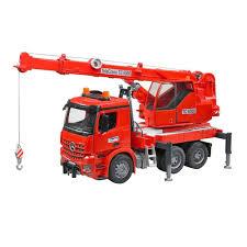 100 Bruder Logging Truck BRUDER 03670 MB AROCS Crane Toy With Light And Sound Module