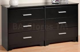Black Dresser 6 Drawer by Prepac Coal Harbor 6 Drawer Dresser Black 296 00 Furniture